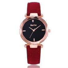 2018 Women Watch Top Brand Luxury Casual Fashion Quartz Clock For Women Leather Strap Wrist Watch Re