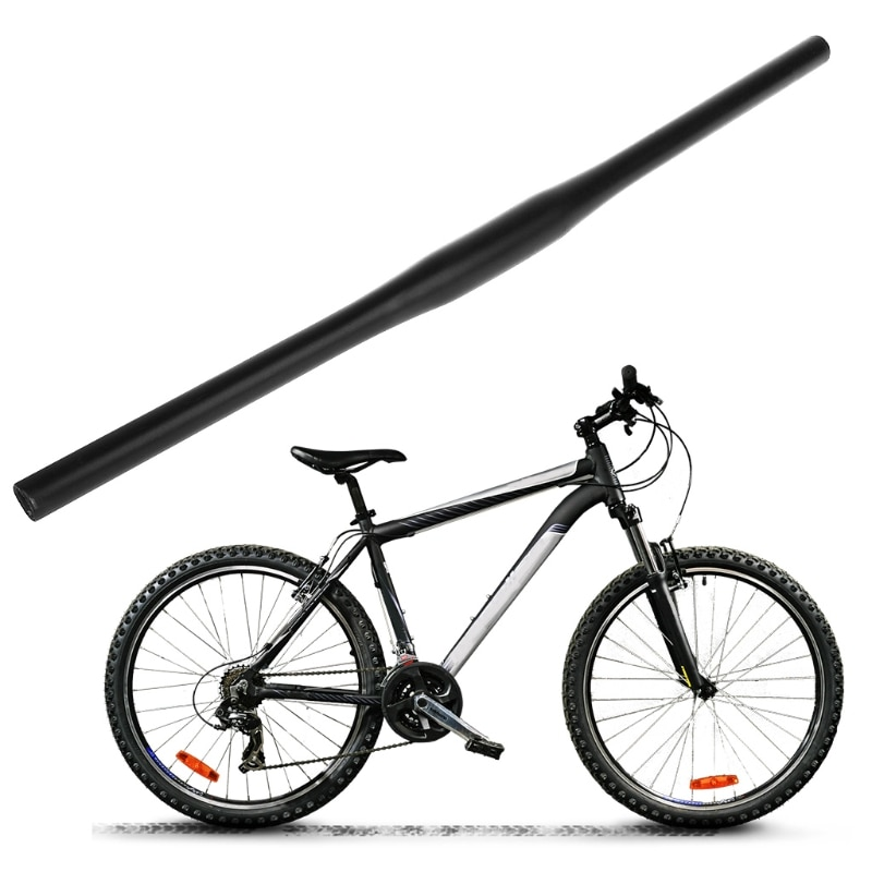 Manillar de bicicleta 620mm aleación de aluminio MTB bicicleta de montaña piezas planas para 31,8mm 10166