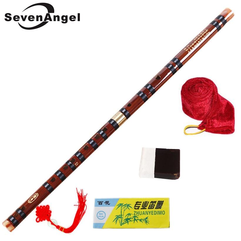 Высококачественная бамбуковая флейта, профессиональные флейты с деревом, музыкальные инструменты C D E F G Key, китайский dizi, поперечные флуты