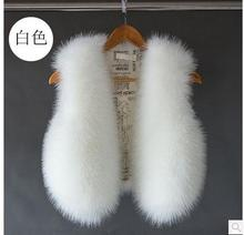 Women Short Section Autumn And Winter Sleeveless Jacket Faux Fur Vest Coats Casual Female Waistcoats Female Vests S/2Xl K415