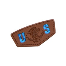 علامات جلدية مخصصة للملابس الجينز بولي label تسمية الجلود مخصص اسم العلامة التجارية ملابس من الجلد تسميات العلامات التسمية الرئيسية للعمل اليدوي