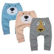 3piece/lot Newborn Baby Boys Girls Baby Girls Pants Unisex Casual Bottom Harem Pants PP Pants Fox Trousers 6M-24M