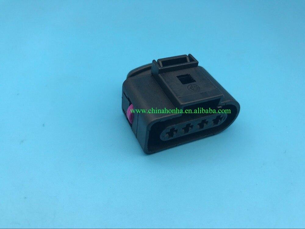 42121400 1J0 973 704 1JO 973 704 1JO973704 1J0973704 PA66 4 sellado de vía Pigtail 4 pin bobina de encendido 1,5mm conector