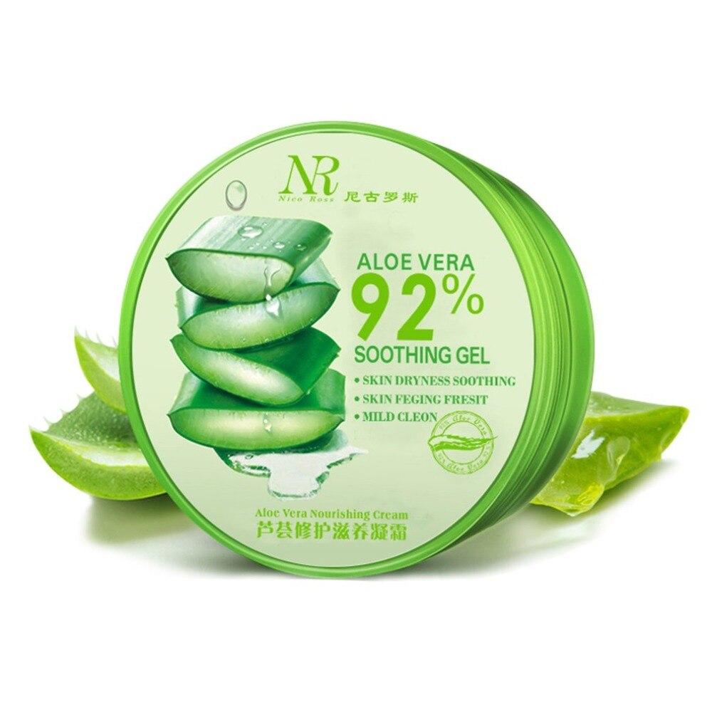 Gel de Aloe Vera de 300ml para cuidado Facial, tratamiento hidratante, tratamiento hidratante, tónico hidratante