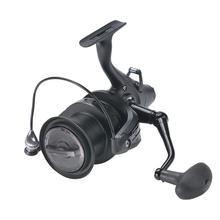 Moulinet de pêche métal Okuma frein avant arrière Force de déchargement filature moulinet de poisson roue BB Ball Carretilha Pesca Acesorios