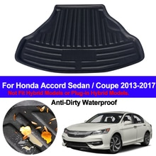 Задние загрузки грузового лайнера багажник напольный коврик ковры лоток коврики коврик ковер для Honda Accord седан/купе 2013 2014 2015 2016 2017