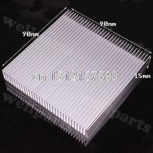 5pcs 90x90x15mm High Quality Aluminum Heat Sink for LED Power IC Transistor H130