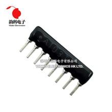 20pcs DIP esclusione Resistor Network array 8pin 100 300 470 1K 1.5K 4.7K 10K 20K 47K 100K ohm