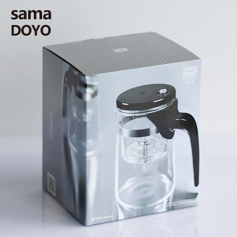 [العظمة] Samadoyo E-01 عالية الصف Gongfu التي إبريق الشاي و القدح 500 مللي الزجاج إبريق الشاي سما الفن الشاي كوب