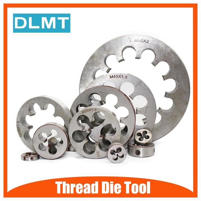 1PC Thread Left Die Metric M2 M3 M4 M5 M6 M7 M8 M10 Mini Threading Screw Machine Die Left Hand Tools for Metalworking