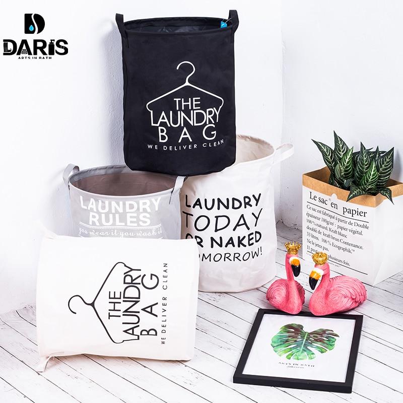 Tela plegable de almacenamiento cesta para juguetes con asas bebé niños juguete impermeable cesto de almacenaje para ropa cesto organizador