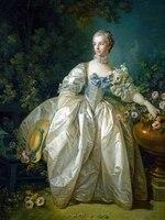 classical figurative painting canvas portrait art poster picture court painting of madame de pompadour home decor
