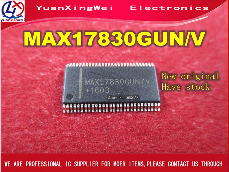 10 stks/partij MAX17830GUN MAX17830GUN/V MAX17830 TSSOP56