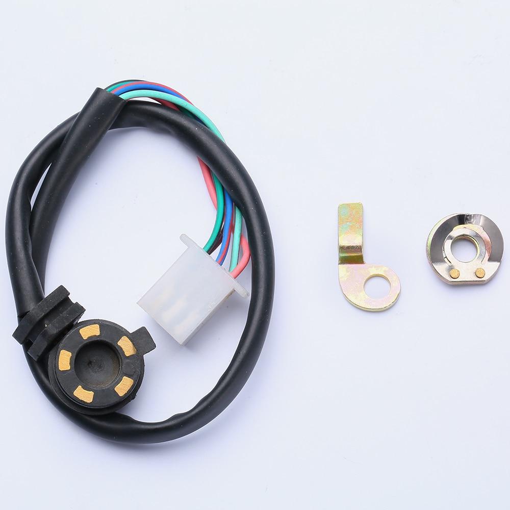Piezas de motocicleta engranaje Sensor de posición Neutra Universal arandelas para motores horizontales 70cc, 90cc, 100cc, 110cc,