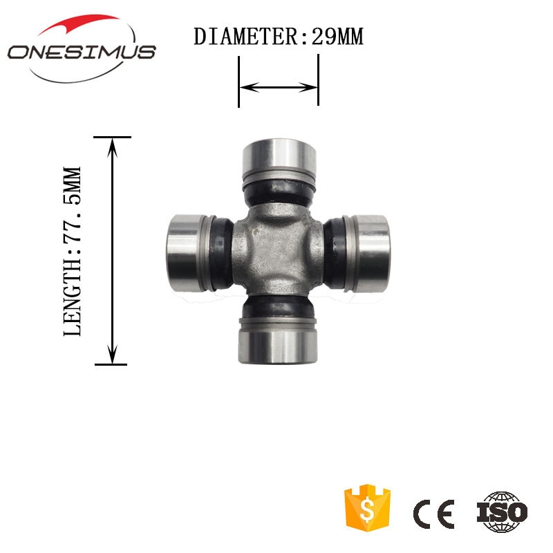 TIS-152 29*77.5mm OEM/8970808971 Eixo Cardan Conjunta (Eixo Rígido) para isuzu 4JA1/B