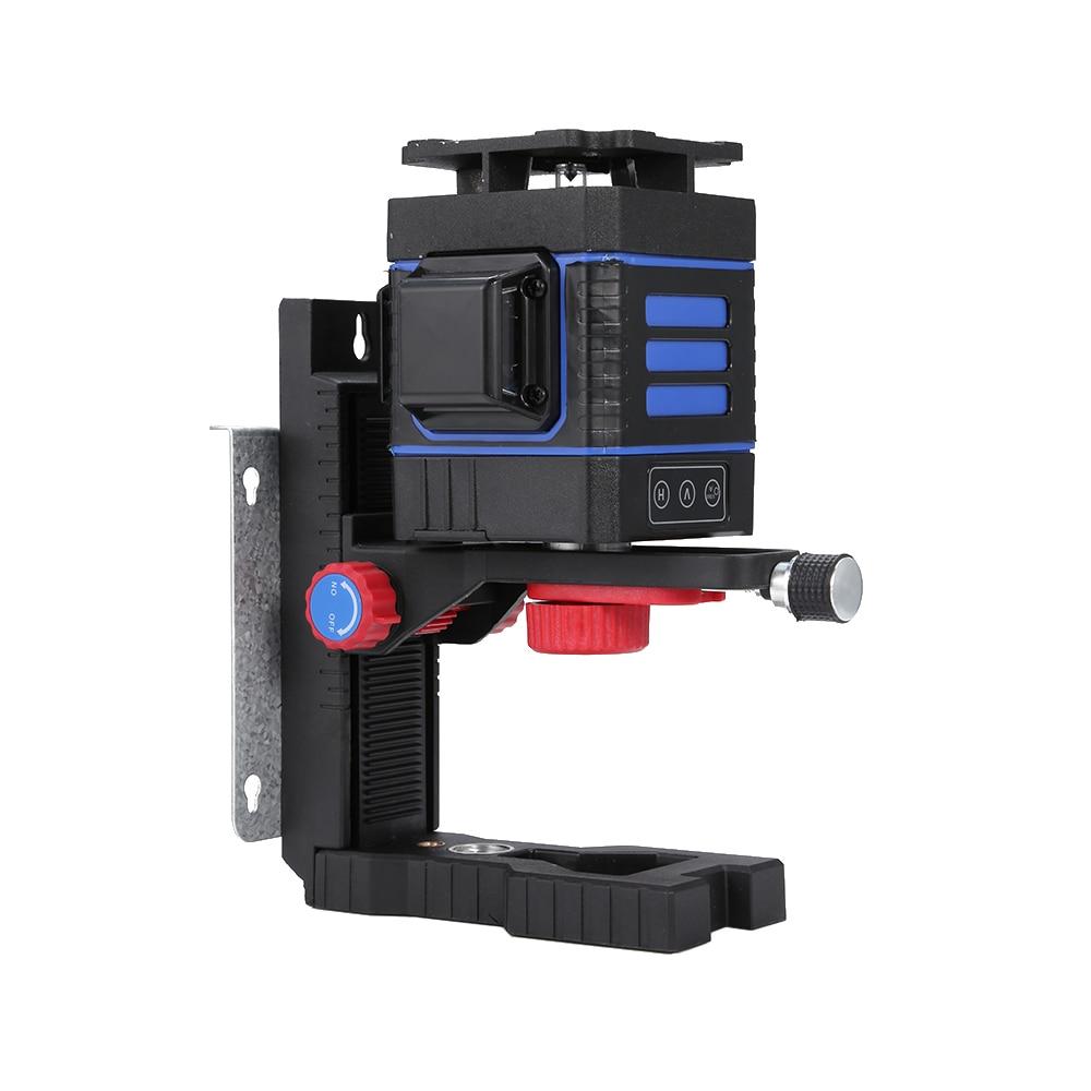 Nivel accesorios láser soporte montado en pared magnética ajustable instrumento de nivel infrarrojo cuelga colgador de pared