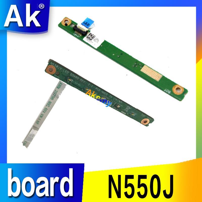 AK para For Asus N550 N550JV tablero LED con prueba de cable well