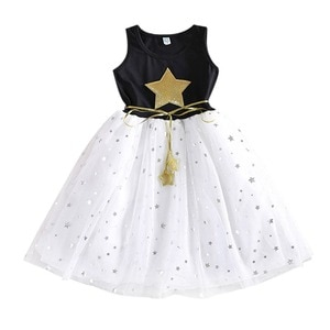 Girls Dress Summer 2-7 years Sequin Dresses Kids Clothes Cotton Children's Clothing Christmas dress Party Costume
