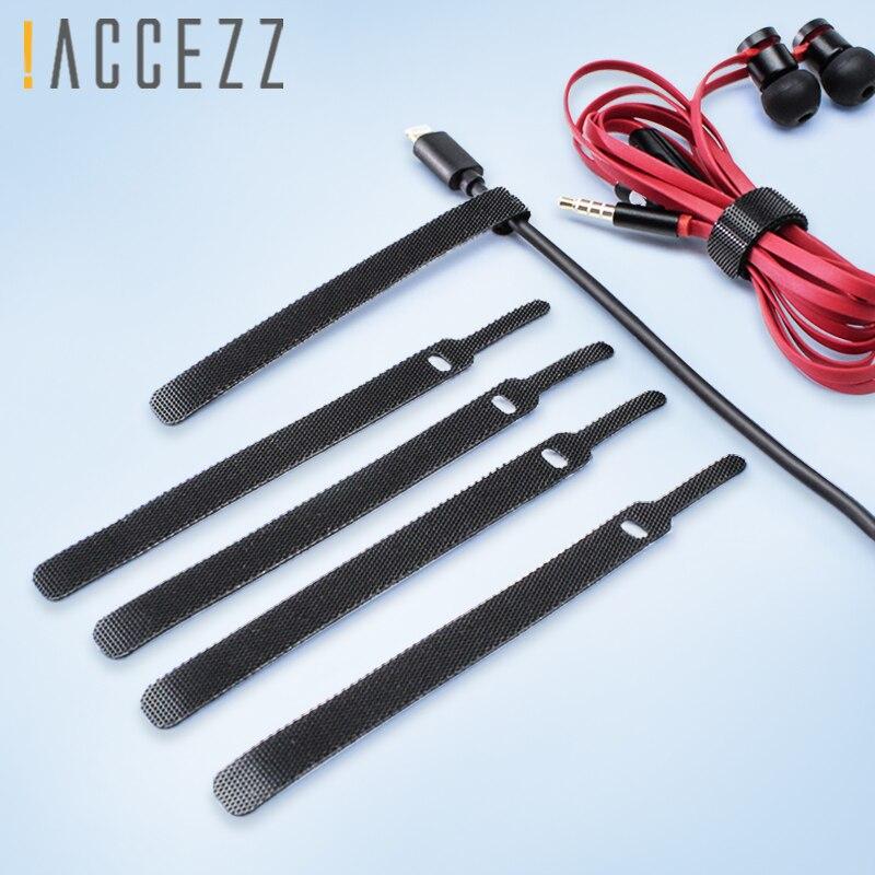 ¡! Organizador de cable de auriculares de 10 piezas, enrollador de alambre, soporte para auriculares, ratón, cinta magnética, Clip, gestión del Protector para iPhone