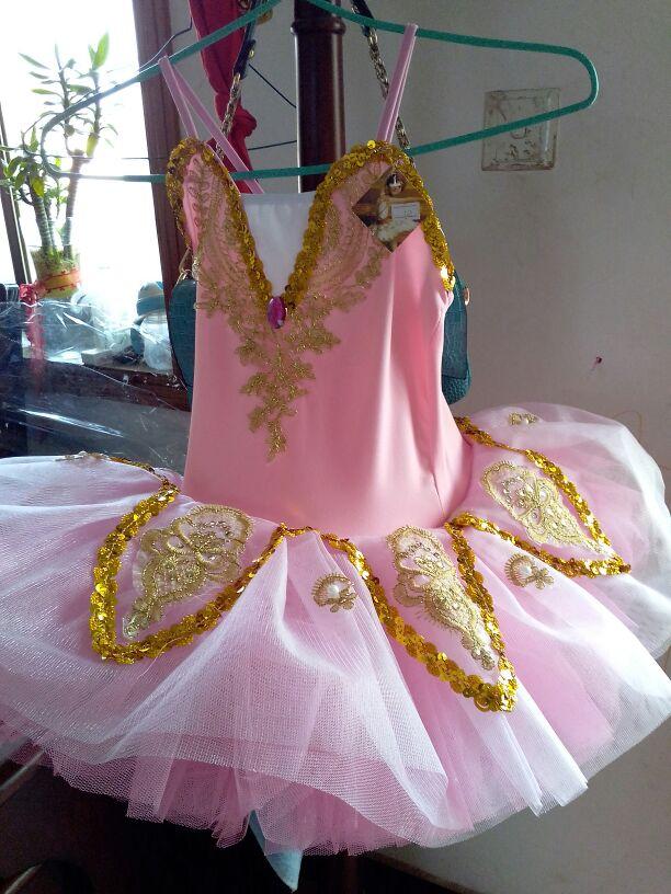 Ballerina Dress Swan Lake Costumes Children Sequins Tutu Ballet Dress Kids Gymnastics Leotard Performance Dancewear For Girl