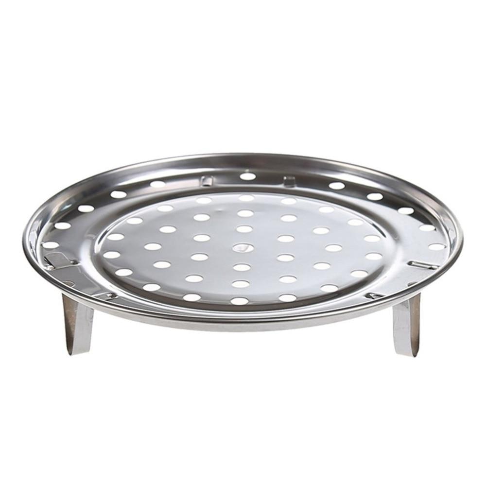Новое поступление кастрюль паровой поднос подставка кухонная посуда Инструмент Многофункциональная Бытовая кухонная круглая стойка для отпаривателя из нержавеющей стали