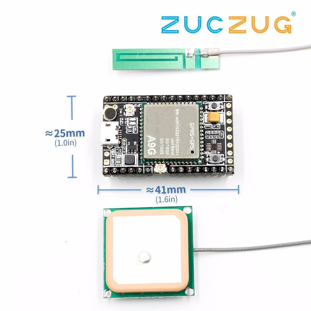 GSM/GPRS + GPS/BDS макетная плата A9G Development Board  SMS  Voice  Беспроводная передача данных + позиционирование