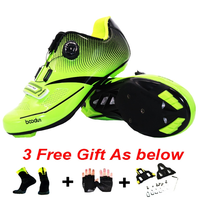 Zapatos de bicicleta Boodun zapatos de Ciclismo de carretera para Hombre Zapatos de bicicleta de montaña Sapatilha Ciclismo Mtb Sepatu Mtb para mujeres y hombres