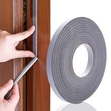 5M Zelfklevende Foam Weer Diepgang Excluder Afdichting Deur Window Gap Isolatie Rubber Tape Hardware Breedte 15 Mm/30mm