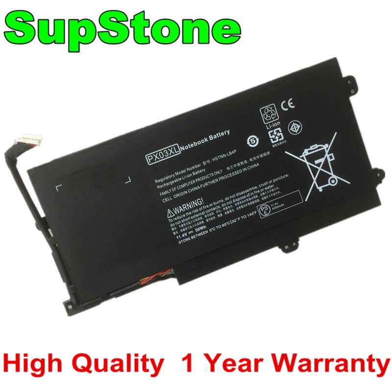 SupStone جديد PX03XL بطارية لجهاز HP الحسد 14-K001TX K133TX M6-K058CA 714762-2C1 HSTNN-LB4P TPN-C109 TPN-C110 TPN-C111 715050-001