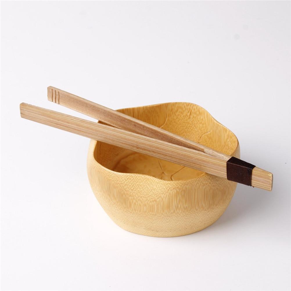 1 Uds decoración de navidad, frutas, dulces, ensalada, herramientas pequeñas, pinzas de comida, 18cm, bambú, pinzas para té, utensilios de cocina con cadena, galletas de té