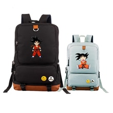 Dragon Ball Z sac à dos unisexe Son Goku sacs décole Anime ordinateur portable sac à dos grand voyage Kakarotto Bookbag femmes sac à dos