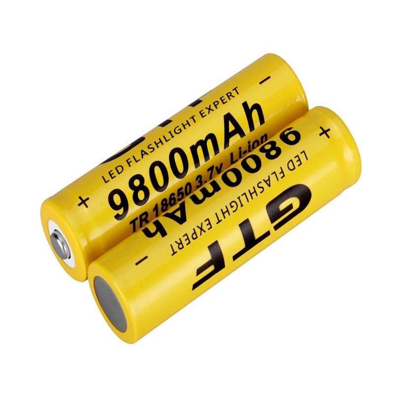 3,7 V 9800mah li-ion 18650 Bundled venta GTF 3,7 V 9800mah 18650 batería Li-ion batería recargable