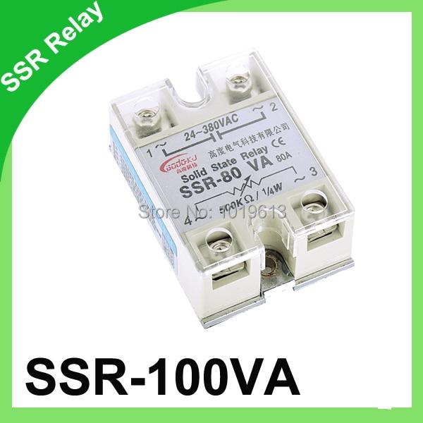Relé SSR SSR-100VA a regulador de resistencia monofásico relé de estado sólido