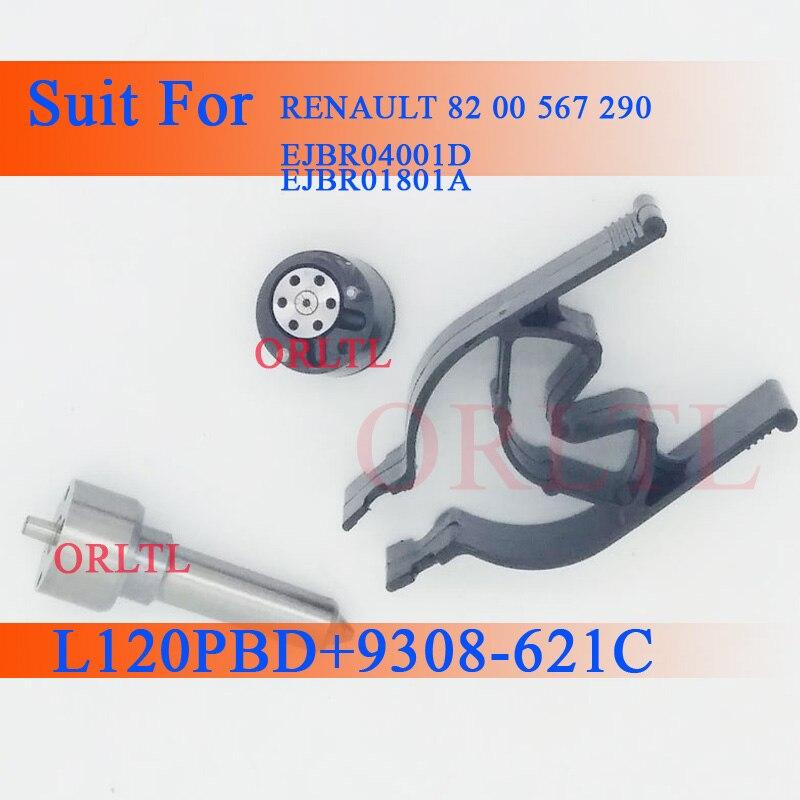 Orltl bocal dispensador 7135-647 l120pbd, válvula de controle por injetor de combustível, para renault 8200567290»