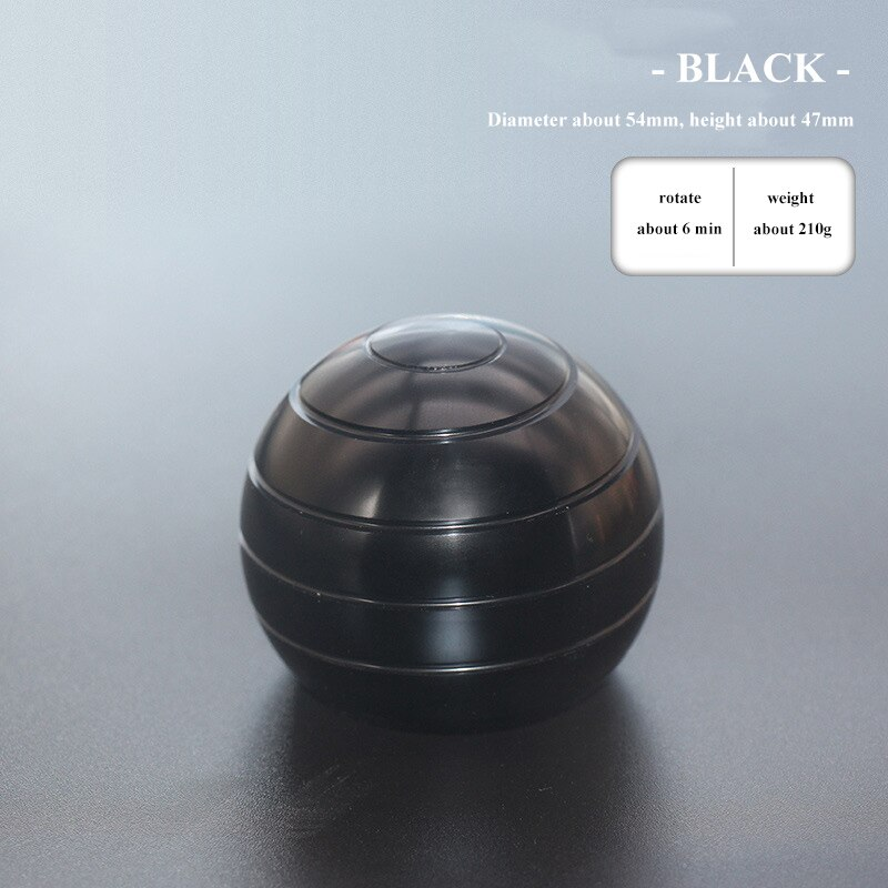 45mm/54mm Kinetic Desktop Toys Aluminum Alloy Hypnosis Rotary Gyro Adult Fingertip Toy Children Toys Decompression Gyro enlarge