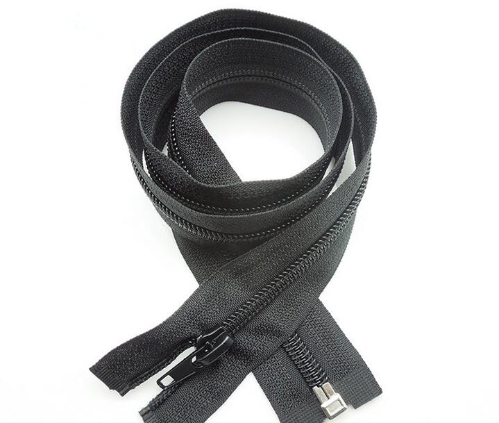 70cm Nylon zipper 10pcs fabric #5zipper garment zipper garment accessory black