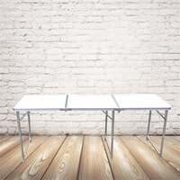 180*60CM Portable Outdoor Folding Table Camping Aluminium Alloy Picnic Table Waterproof Ultra-light Durable Foldable Table Desk