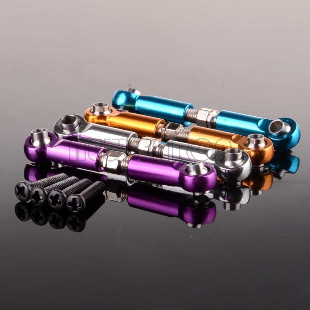 2P 50mm de aluminio de Rod WLtoys A949 A959 A969 A979 K929 A959-03 580039 RC 118