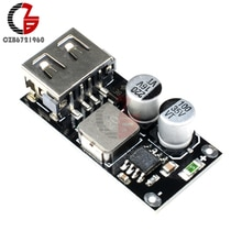 QC3.0 QC2.0 Fast Quick Opladen Board DC-DC Step Down Buck Converter Transformator Supply Module Usb Qc 3.0 Qc 2.0 voor Auto