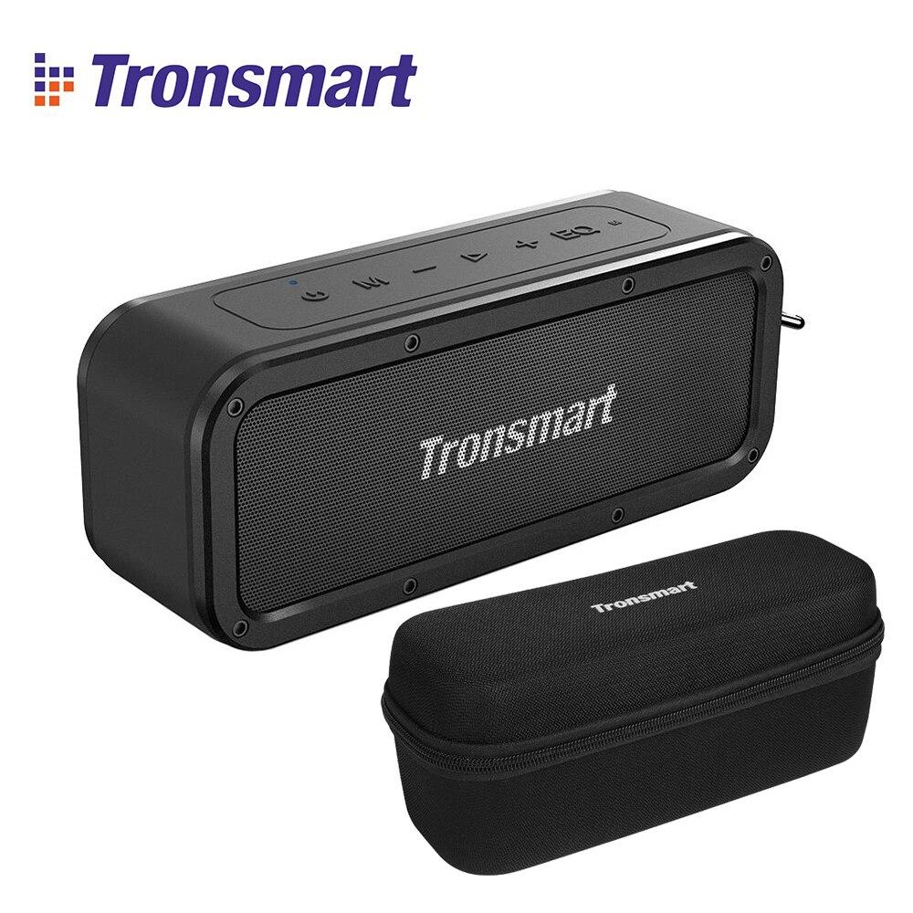 100% oryginalny Tronsmart Element Force TWS NFC przenośny głośnik Bluetooth 40W 15 godzin odtwarzania na zewnątrz przenośny mini głośnik
