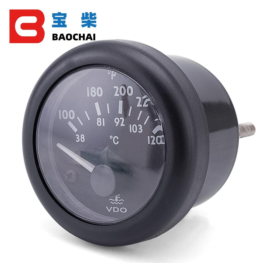 12V VDO дизель-генератор набор датчик температуры воды 38 ~ 120C/100 ~ 250F 12 V/24 V опционально