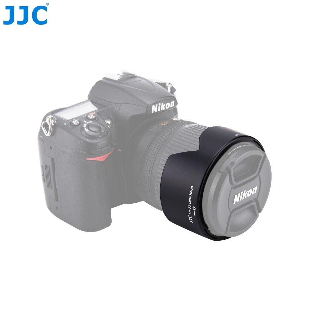 Capa da lente da flor da baioneta da câmera de jjc para nikon AF-S dx nikkor 18-105mm/18-140mm f/3.5-5.6g ed vr substitui HB-32