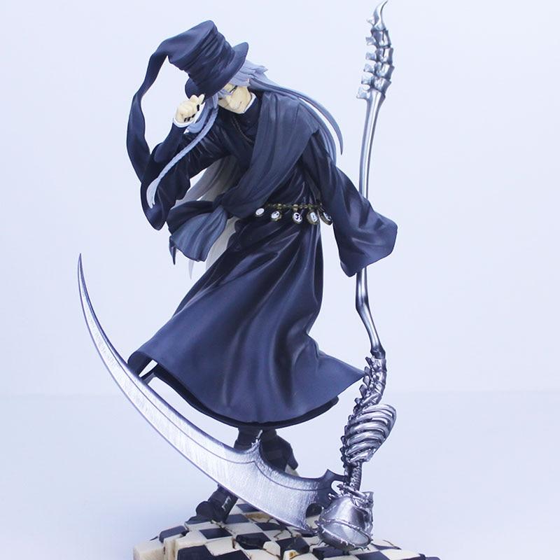 Donose Anime negro Butler: libro de circo: Undertaker 1/8 Kuroshitsuji PVC colección de figuras de acción niños, modelo de juguete muñeca