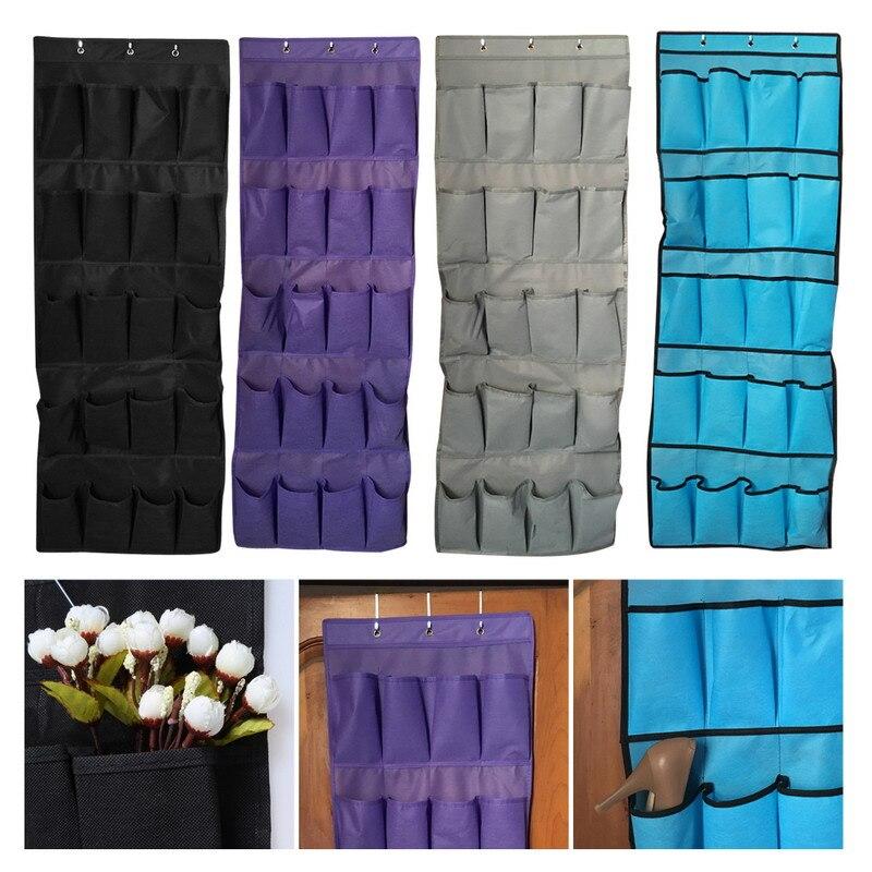 20 Pocket Storage Hanging Bag Home Wall Hanging Shelf Bag with Hooks Space Saver Organizer