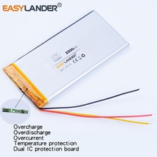 AEC504499 504499 3.7V 2500mAh Rechargeable li-Polymer Battery For Electronic Products E-BOOK power b