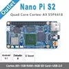 NanoPi S2 S5P4418 Cortex-A9 (1 go de RAM8 go eMMC1.4GHz)+ X710 LCD + carte SD 8 go etc. = NanoPi S2 KIT-E-F (fonctionne u-boot android 5.1Debian8)