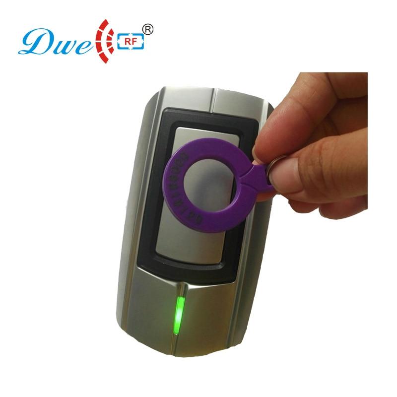 Lector de tarjetas DWE CC RF, lector de tarjeta pasiva de RFID de corta distancia de 125 khz, fábrica wiegand, resistente al agua ip68
