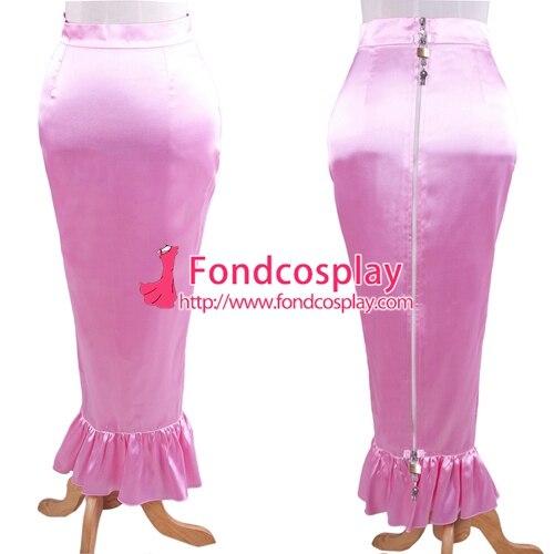 سيسي خادمة قابلة للقفل الحرير ذيل السمكة تنورة مصممة خصيصا [G1609]