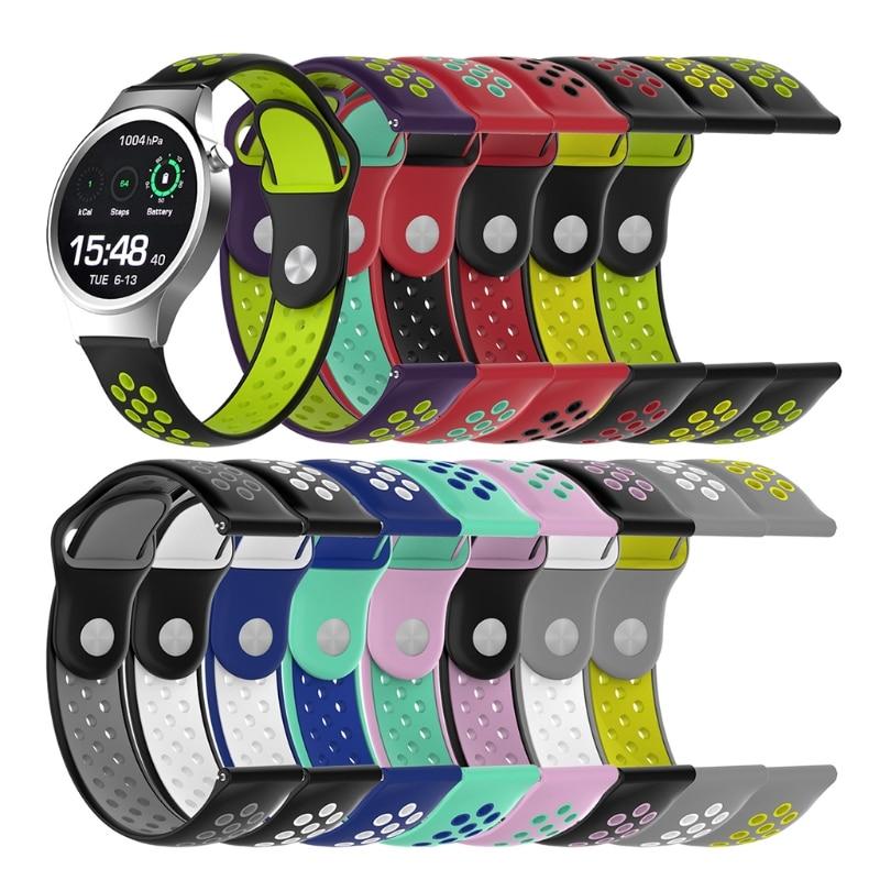 Correa de silicona Universal para reloj de pulsera para Withings Steel Huawei Watch 1st S1 Other 18mm Watch