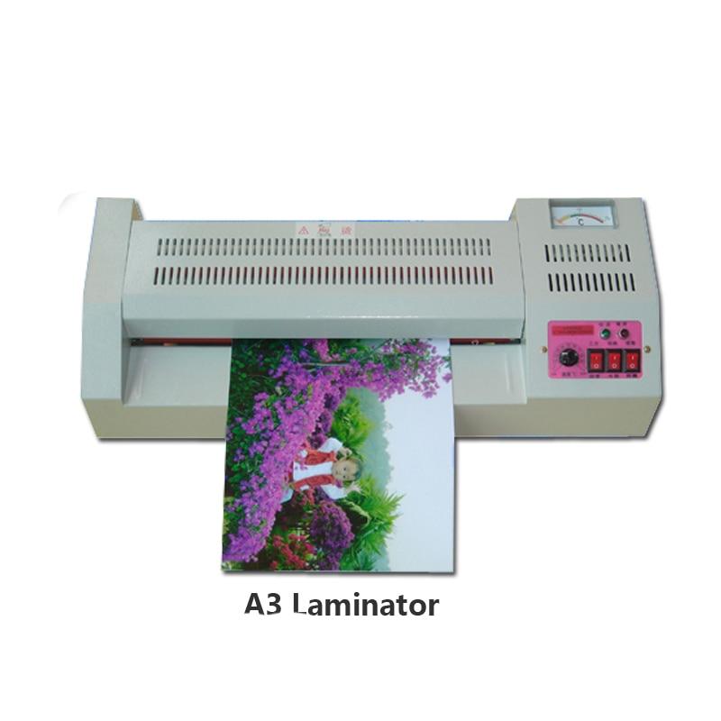 A3 Photo plastifieuse chaud froid plastifiadora Termolaminar Machine laminage vitesse 80-125mic Film stratification
